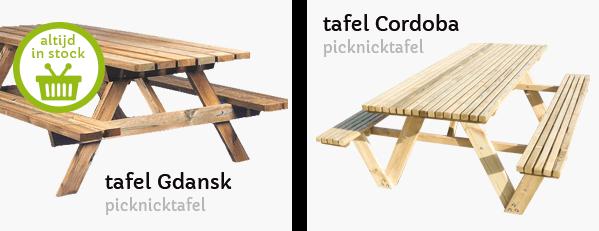 banken en tafels