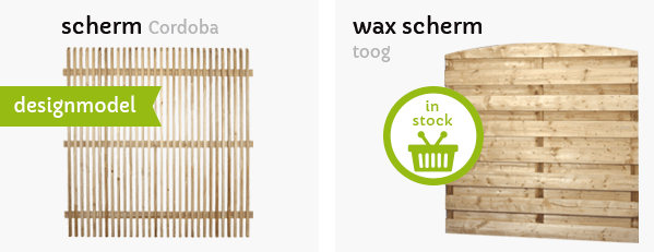tuinschermen wax