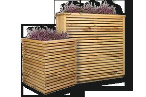 bloembak-hout