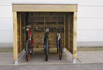fietsbering hout