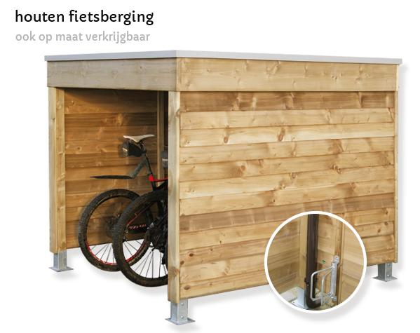 fietsberging hout