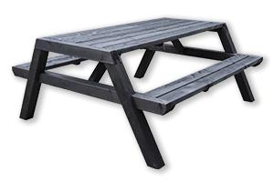 picknicktafel-zwart