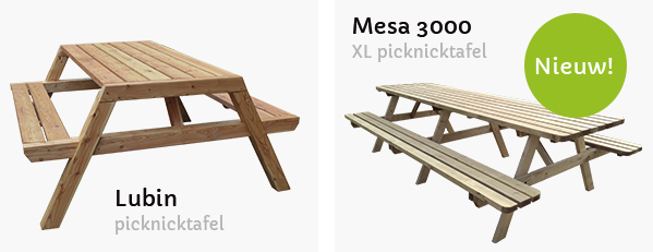 XL picknicktafel