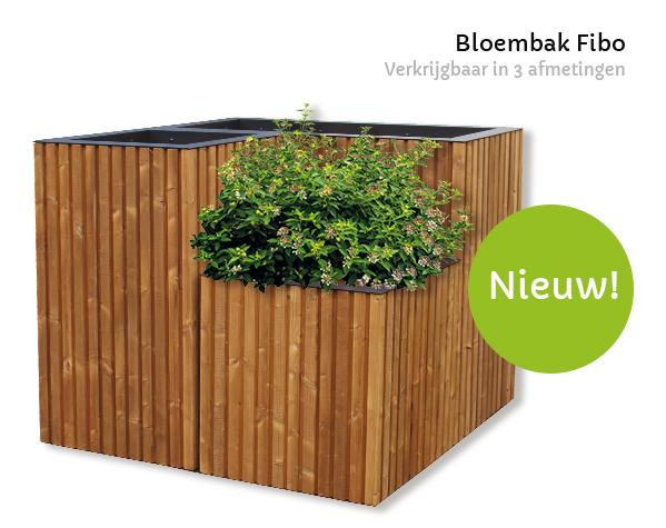 houten bloembak
