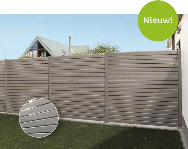 aluminium tuinscherm